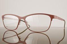 Orgreen Margot Eyeglasses col. 626 Mat Beet Red/ Sandblasted Titanium