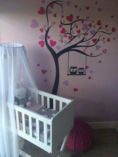 babykamer decoratie sticker idee
