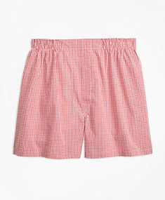 Brooks Brothers Traditional Fit Gingham Boxers Brooks Brothers, Boxers,  Gingham, Boxer, Boardshorts aa147d239755
