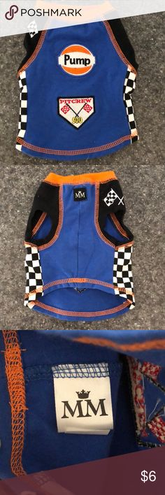 NASCAR Pit Crew Doggy clothes Cute Pit Crew clothes for a small dog, just like new. Size XS Other
