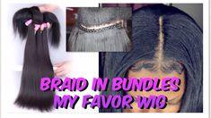 Braid In Bundles Black Girls Hairstyles, Down Hairstyles, Braided Hairstyles, Natural Hair Braids, Natural Hair Styles, Braid In Bundles, Hair Down Styles, Hair Hacks, Hair Tips