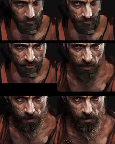 ArtStation - Jean Valjean, menghua fang