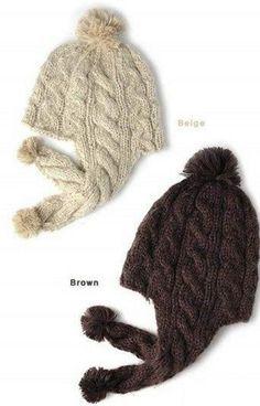 Вязание детской шапочки с ушками