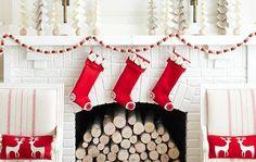 Lareiras de Natal