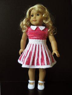 "Ravelry: SANDY 18"" doll dress pattern by Vita"