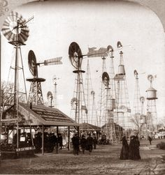 Windmills for Sale, World Fair, St. Louis, 1904 (via the retronaut)