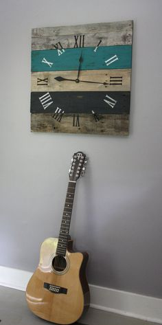 Welcome to the one and only terrafirma79 designs. Thank you for considering our artisan pallet wood clock shop for your home decor or gift giving needs. PLEASE NOTE: Large wall clocks are currently being made with the smaller 3.5 boards. The listing pictures may show 26 large wall clocks with five boards measuring approximately 5.25 in width running horizontally for a large clock which measures approximately 26 x 26 square. Due to the current unavailability of 5.25 boards, we will make the…