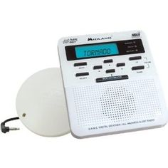 Midland Alert Weather Radio with Vibrator by Silent Call. $107.00. AC power adapter included with battery backup. This set adds a vibrator extra alerting capability. Use daily as an alarm clock w snooze. Receives weather and hazard alerts. Alerts with loud tone LED light and LCD display message. The Silent Call Midland Alert Weather Radio with Vibrator includes the base weather alert radio, plus adds vibrating notification of weather and hazard alerts. It's great for the dea...