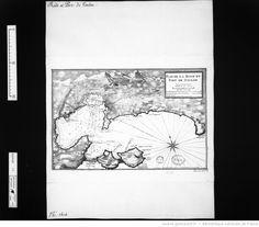 Plan de la Baye et port de Toulon / par Jacques Ayrouard pilote real