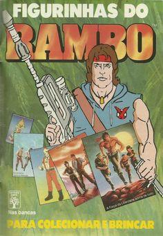 Álbum de figurinhas do Rambo - Editora Abril (1988)