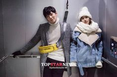 [Drama] Ji Chang Wook gives Park Min Young a piggyback on the set of Healer Park Min Young, Healer Kdrama, Ji Chang Wook Healer, Kbs Drama, Celebrity Skin, The A Team, Korean Model, Korean Actors, Korean Dramas