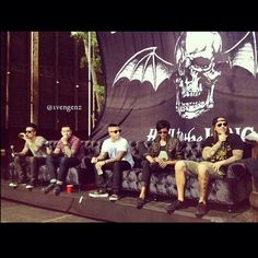 Avenged Sevenfold in L.A.