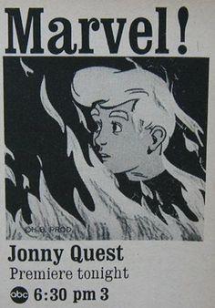 Classic Cartoons, Cool Cartoons, Cartoon Movies, Cartoon Characters, Jonny Quest Cartoon, Advertising Flyers, Space Ghost, Turner Classic Movies, Vintage Tv
