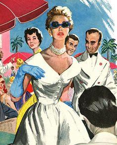 1952 #illustration by Aubrey Rix