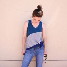 The point of this blog post is to convey one thing and one thing only: You NEED the Pony Tank. Trust. Me. This new tank top pattern from Chalk and Notch is so amazing and you're going to have…