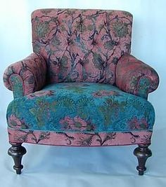 Likes the style of victorian vintage and  In particular the colors.