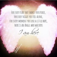 61 Beautiful Angel Quotes And Sayings Affirmations, Angel Prayers, I Believe In Angels, My Guardian Angel, Angel Numbers, Feeling Alone, Trust God, Favorite Quotes, Me Quotes