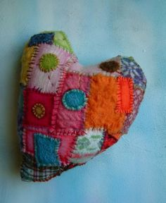 Patchwork heart by millicent