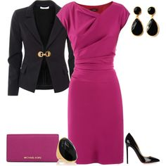 A fashion look from April 2014 featuring cotton dress, versace blazer and high heel pumps. Browse and shop related looks.