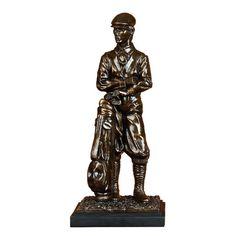 """Uma 15"""" Posing Golfer Figurine - Beyond the Rack"""