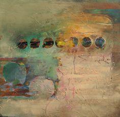 "GreatBigCanvas 16 x 16 Zoll. """" Moonstruck """" von Judy Thorley Leinwand Wandkunst, M . Collage Art Mixed Media, Mixed Media Artists, Abstract Canvas, Canvas Wall Art, Framed Canvas, Abstract Paintings, Wall Mural, Art Doodle, Modern Art Movements"