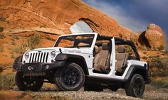 Jeep Wrangler Moab Tricks and Treats
