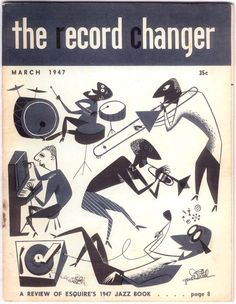The Record Changer, March Gene Deitch cover art.