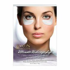 Satin Smooth Milk 'n Honey Under Eye Lift 3 Piece Set Collagen Mask