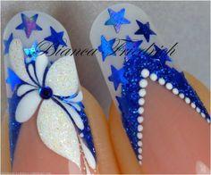 Modelado de diseño de uñas de Bianca