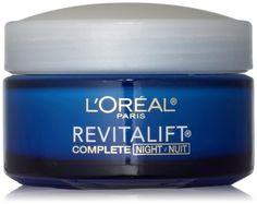 L'Oreal Paris RevitaLift Anti-Wrinkle + Firming Night Cream, 1.7 Fluid Ounce L'Oreal Paris,http://www.amazon.com/dp/B000KONYPY/ref=cm_sw_r_pi_dp_Od9vtb0HH66SPRQ0