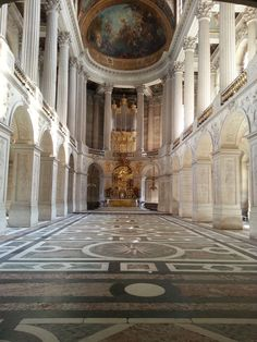 Chapel at Versaille