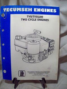 Tecumseh 2 Cycle Engines Manual in Home & Garden, Yard, Garden & Outdoor Living, Outdoor Power Equipment Grafton Wisconsin, Tecumseh Engine, Small Engine, Repair Manuals, Tvs, Engineering, Snow, Ebay, Technology