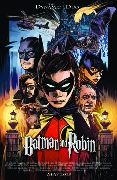 BATMAN & ROBIN #40 inspired by HARRY POTTER, with cover art by Tommy Lee Edwards