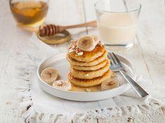 Bananen-Pancakes #banana #pancake #energy #breakfast #syrup #yummy #honey #sogood #milk #theperfectbreakfast
