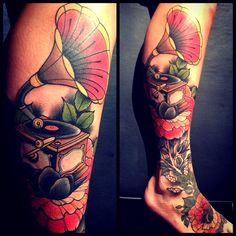 Neo Traditional Tattoo & Flash: Photo   New School Tattoos