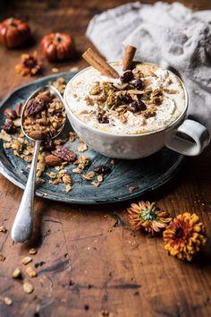 Pumpkin Spice Oatmeal Latte | halfbakedharvest.com @hbharvest via @hbharvest