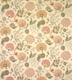Wingback: Arabella Coral (10797-100) – James Dunlop Textiles | Upholstery, Drapery & Wallpaper fabrics