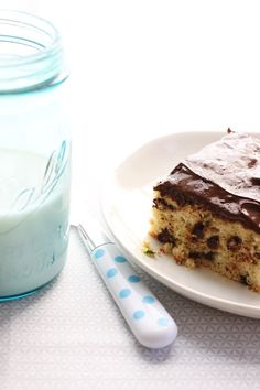 I know, I'm weird, but I think this sounds delicious! Chocolate Zucchini Cake