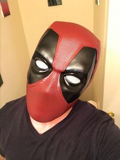 Made of high-grade latex material, it's non-toxic and environmentally friendly. Halloween Make Up, Halloween Face Makeup, Deadpool Mask, Memorable Gifts, Gifts For Him, Latex, How To Memorize Things, Superhero, Cool Stuff