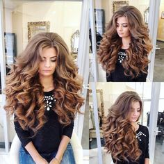 Curls For Long Hair, Very Long Hair, Long Curly Hair, Big Hair, Curly Hair Styles, Thick Hair, Pagent Hair, Prom Hair, Permed Hairstyles