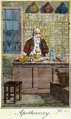 COLONIAL APOTHECARY, 18th C Photograph by Granger - COLONIAL APOTHECARY, 18th C Fine Art Prints and Posters for Sale