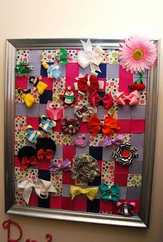 Kids bows- love this but I think that we have to  many bows for this.