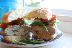 Sunny Simple Life: Greek Chicken Burgers