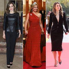 Royal Fashion: Queen Letizia, Queen Maxima and Queen Rania