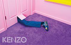 рекламная кампания Kenzo, осень-зима 2014