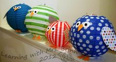 Owl Lanterns - how cute are these!?