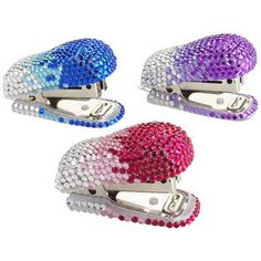 Crystal Staplers.. I have a penchant towards purple & sparkly!