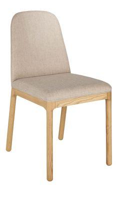 BET Chaise en tissu beige