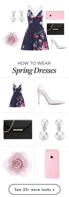 """Classy spring"" by summerbabu on Polyvore featuring AX Paris, MICHAEL Michael Kors, Gianvito Rossi, Accessorize, women's clothing, women's fashion, women, female, woman and misses"