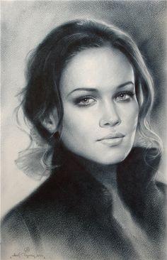 Hillary Duff by Yakov Dedyk